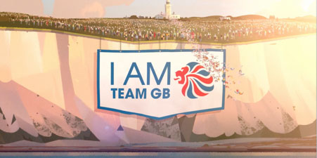 National lottery I am team GB