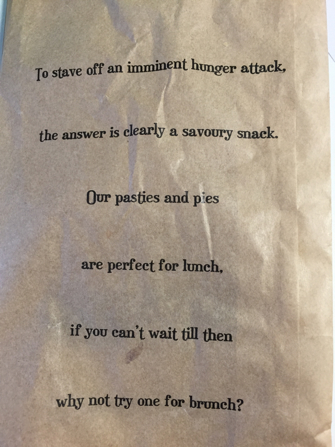 Poems parsons bakery